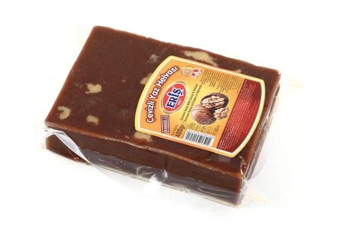 Халва летняя с грецким орехом и какао 400 гр